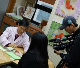 KBS에서 그린한의원 촬영을 나왔습니다.