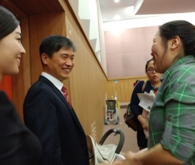 김은섭원장님이 MBC임신육아교실 강의를 성공적으로 치루고 돌아왔습니다.[대전 모유수유한약 유앤그린여성한의원]